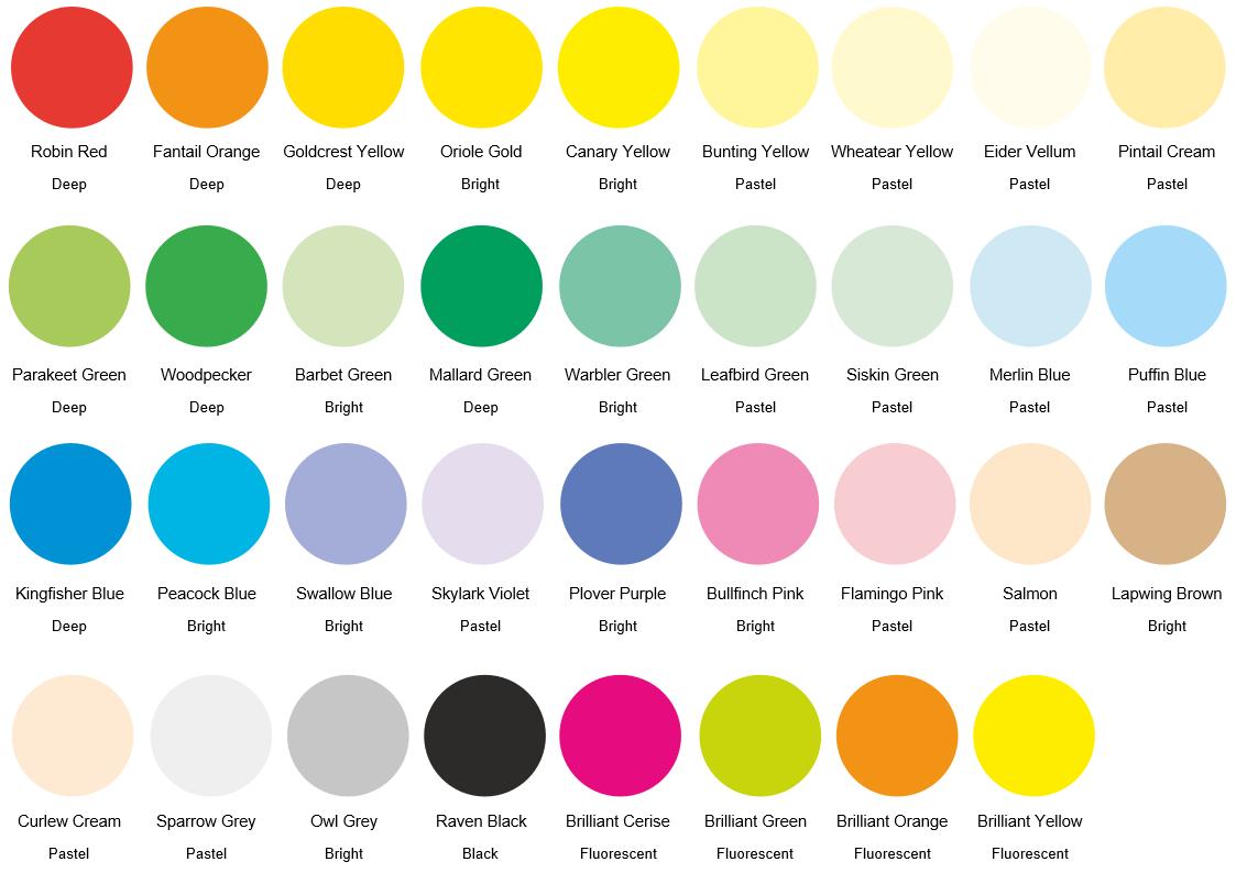 Kaskad-colours